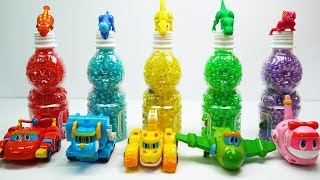 Learn Colors With car macqueen dinosaurs funny toys for kids video | car gogodino disney