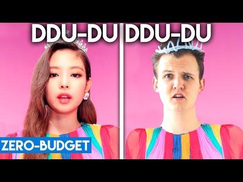 Download K-POP WITH  ZERO BUDGET! BLACKPINK - 'DDU-DU DDU-DU' Mp4 baru