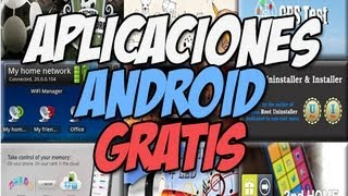 10 aplicaciones Android RECOMENDADAS | Apps android gratis - Happy tech android