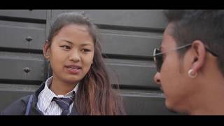 """Student girl Nepali heart touching  short movie"