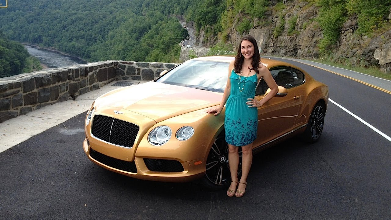 Bentley Continental Gt V8 First Drive Of The 2013 Cgt With Elizabeth Kreft By Roadflytv Youtube