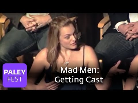 Mad Men - Hamm & Moss On Getting Cast (Paley Center)