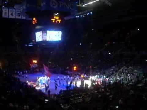 Detroit Pistons Vs. Milwaukee Bucks Starting Lineup Intro April 13, 2012