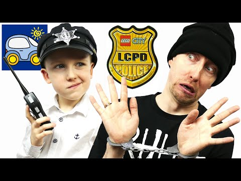 🚨 Кража Лего Сити средь бела дня Кто украл Лего Полиция 60047 полицейский участок Картонка