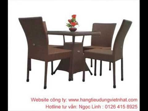 Bàn ghế cafe TNB gía rẻ  - ghevanphong net vn