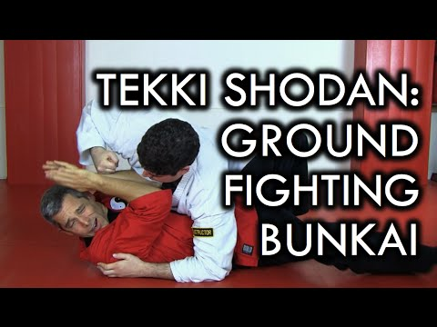 Tekki Shodan Bunkai - Karate Ground Fighting