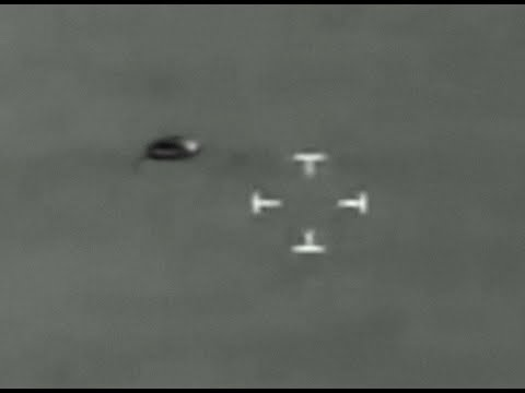 Helicopter Pursues UFO Over Airport, Object Escapes Into Ocean