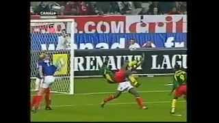 Patrick Mboma. The most beautiful goal I've ever seen.