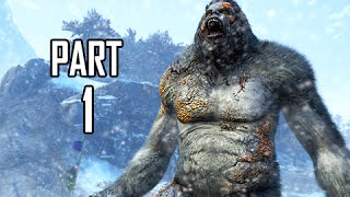 Far Cry 4 Valley of the Yetis DLC Walkthrough Part 1 - The Lost Valley (FC4 Gameplay Commentary)