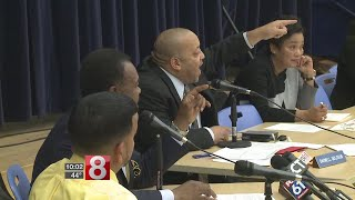 Near brawl erupts at New Haven school board meeting