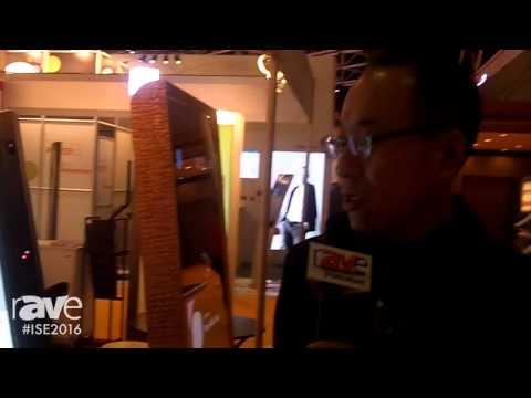 ISE 2016: Elivision Introduces Height-Adjusting Digital Signage Kiosk