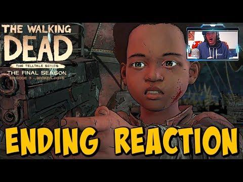 """The Walking Dead:Season 4 Episode 3 """"Broken Toys"""" ENDING REACTION - The Final Season"""