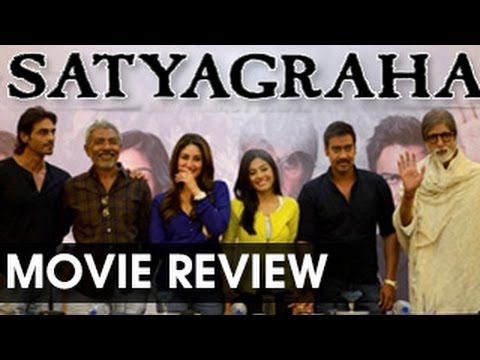 Satyagraha MOVIE REVIEW- Amitabh Bachchan steals the show