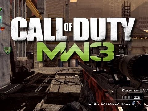 MW3 Funny Moments - Look at this glitch!