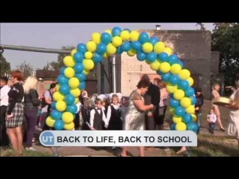Back to school in liberated Slovyansk: Ukrainian town was devastated by Kremlin-backed insurgents