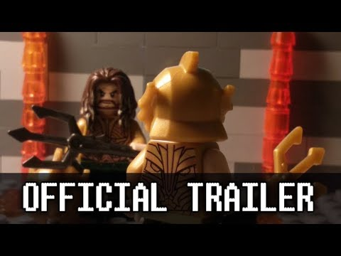 Aquaman Official Trailer in LEGO