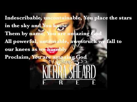 Kierra Sheard - Indescribable Instrumental