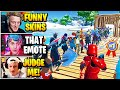 Streamers Host FUNNIEST Solo SKIN CONTEST | Fortnite Daily Funny Moments Ep.509