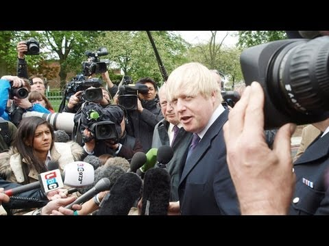 Boris Johnson and David Cameron visit Woolwich after soldier's murder