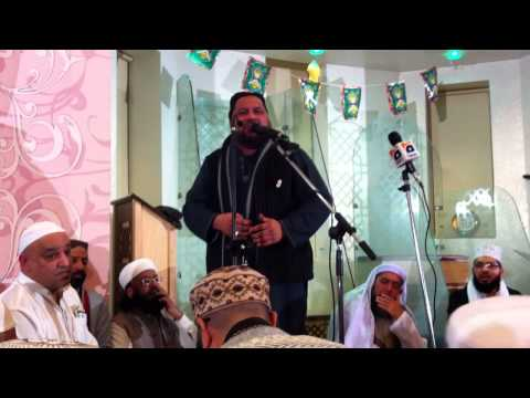 Sayed Tahir Abbas Shah at Rochdale Golden Mosque 2013 Allah...