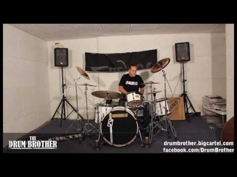 John Macaluso (Yngwie Malmsteen , James La Brie, the Ark) Linear Drumming and Odd times Drum Lesson