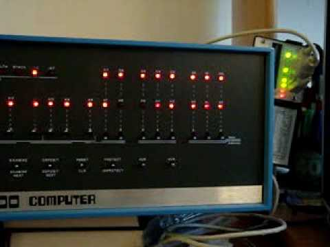 MITS Altair 8800 demonstration