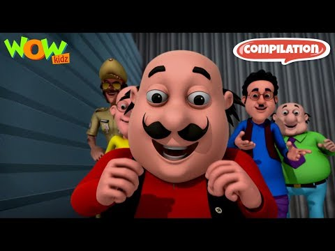 Motu Patlu funny videos collection #14 - As seen on Nickelodeon thumbnail