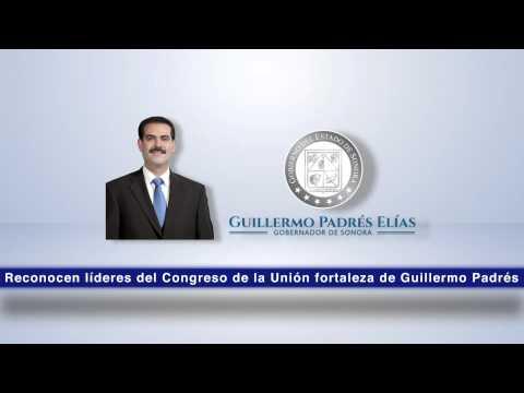 18-10-2014 Reconocen líderes del Congreso de la Unión fortaleza de Guillermo Padrés.