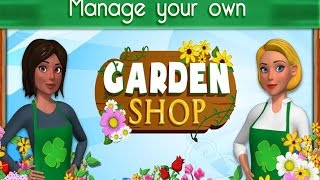 Garden Shop Rush Hour Android İos Free Strategy Game GAMEPLAY VİDEO