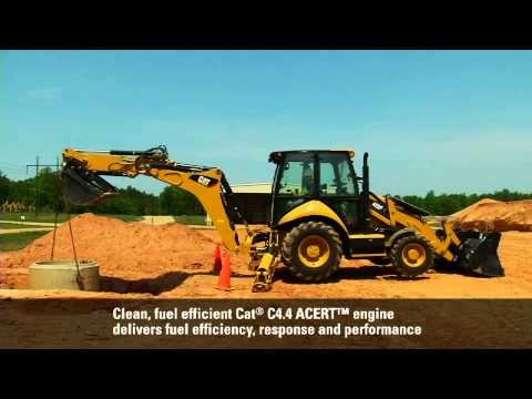 Cat F Series Backhoe Loaders at Work