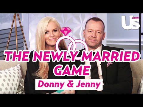 Jenny McCarthy & Donnie Wahlberg Play The Newlywed Game