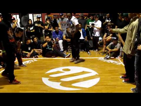 Illest Bboy Battle: 3 vs. 3: Semifinals: Black Vegas vs. Renegades