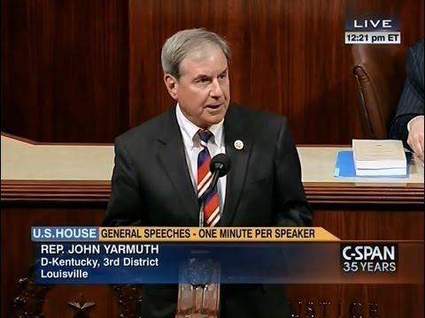 Rep. Yarmuth Renews Call to Extend Unemployment Insurance