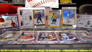 2019 Panini Donruss Soccer 5 CASE BREAK - PYT #6-10 - US Soccer Breaks - GotBaseballCards--- video 6
