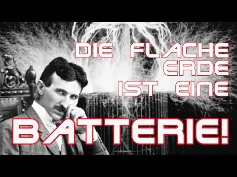 Die flache Erde ist eine selbsterhaltende Batterie!?