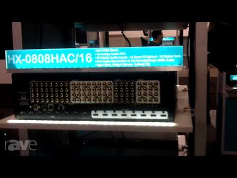 CEDIA 2013: AVocation Systems Features the HX-0808H HDMI Distribution System