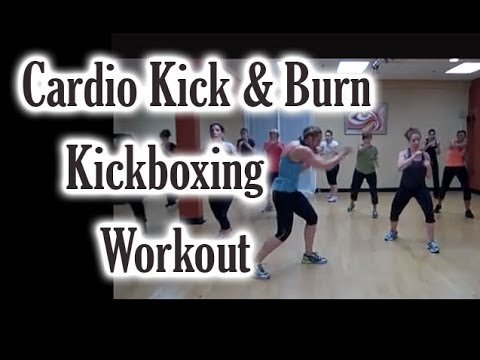 Cardio Kick & Burn Kickboxing Workout