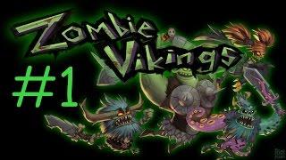 Zombie Vikings - Прохождение на русском [CO-OP] - Ч.1 - Не простые викинги