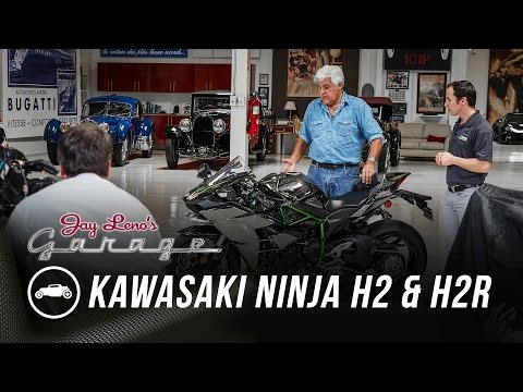 2015 Kawasaki Ninja H2 and H2R - Jay Leno's Garage