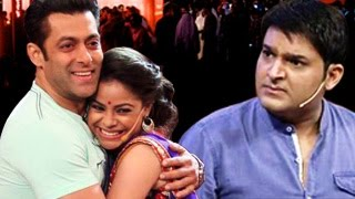 Salman Khan FLIRTS with Kapil Sharmas WIFE!