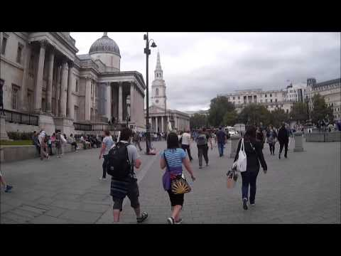 In & Around National Gallery London - 3 August 2015