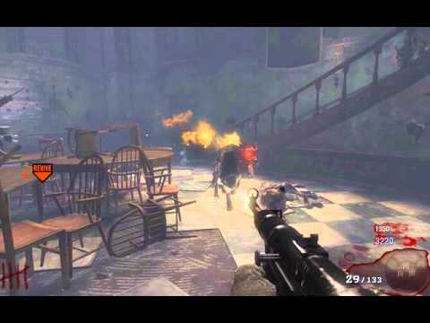 Black Ops Zombies- Survive dog rounds Alone!!!