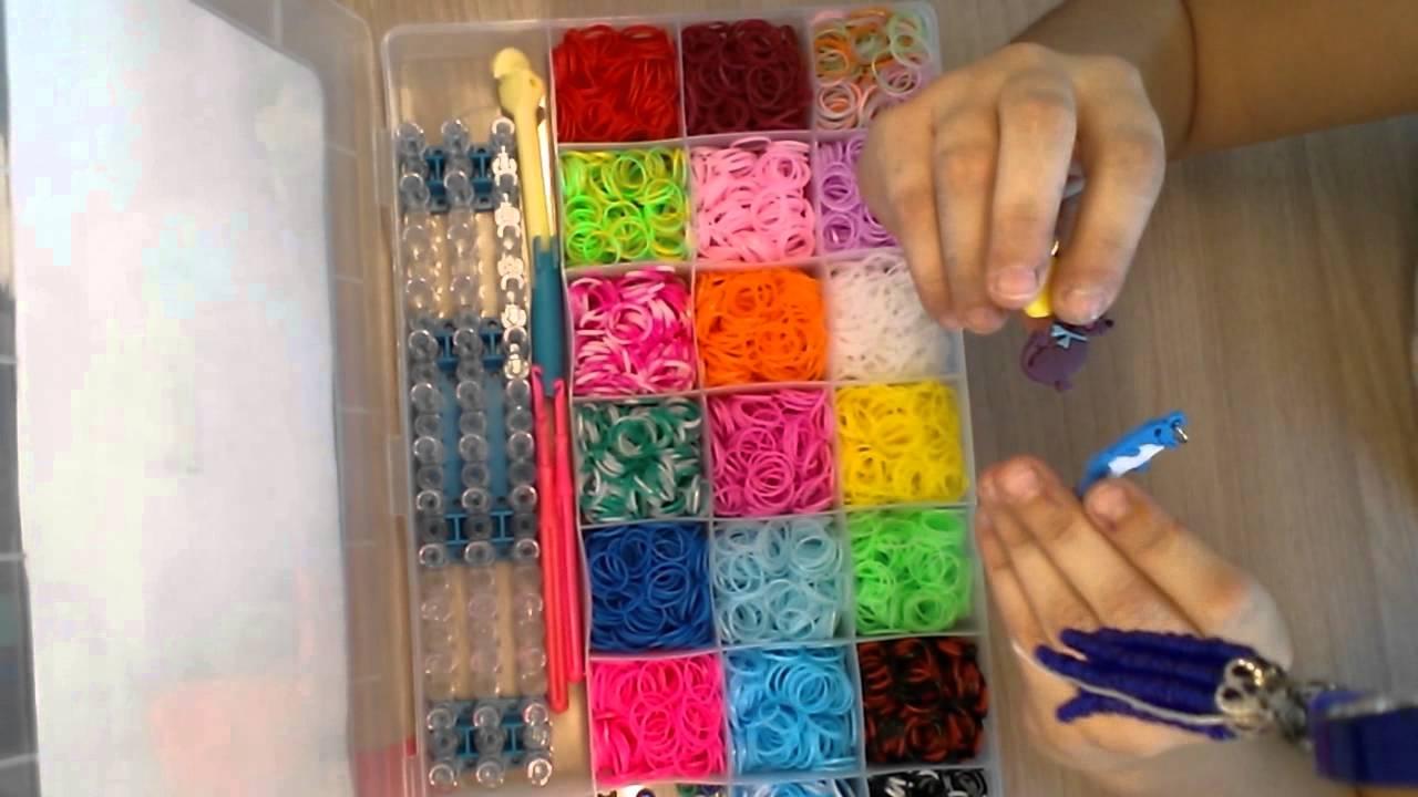 Видео обзор на наборы резинок для плетения