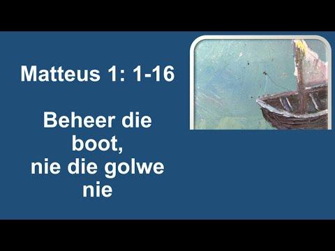 11 Oktober 2020 | Matteus 1 :1-16