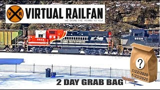 Two day Virtual Railfan Grab Bag! January 22 & 23, 2020!