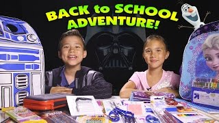 BACK TO SCHOOL ADVENTURE!