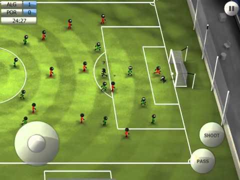 Stickman Soccer 2014 - Algeria 1 / Portugal 0