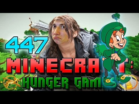 RIDICULOUSLY LUCKY Minecraft: Hunger Games w Mitch Game 447