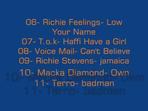 Dj Rondon- Stage Riddim Medley Mixtape