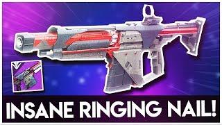"Destiny 2 NEW ""RINGING NAIL"" FORGE AUTO RIFLE - Black Armory Raid AUTO RIFLE"